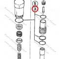 Sada těsnění hydraulickeho rozvaděče 3CX 4CX