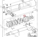 Víko hydraulického válce  JCB 3CX/4CX