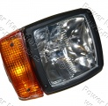 Světlomet přední pravý JCB 2CX / 3CX / 4CX