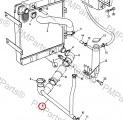 Hadice chladiče dolni JCB 3CX/4CX