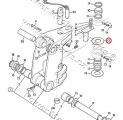 Teflonová podložka otoče JCB 3CX/4CX